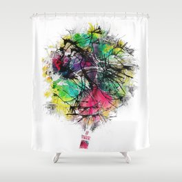 #NewMexicoTRUE Balloon Shower Curtain