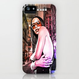 Street Phenomenon Aaliyah iPhone Case