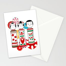 Kokeshidoll Stationery Cards