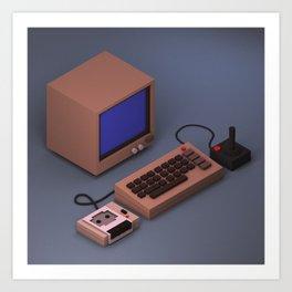Commodore 64 Art Print