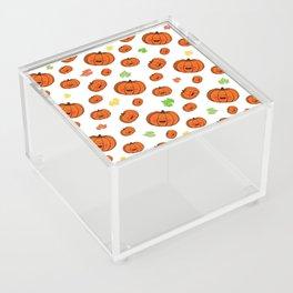 The happy pumpkin Acrylic Box