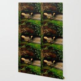 "John Everett Millais ""Ophelia"" Wallpaper"