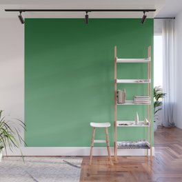 Green Ombre Wall Mural