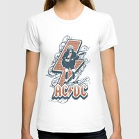 acdc T-shirts featuring acdc angus young by aceofspades81