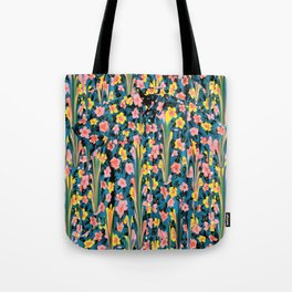 MELTED FLOWERS Tote Bag