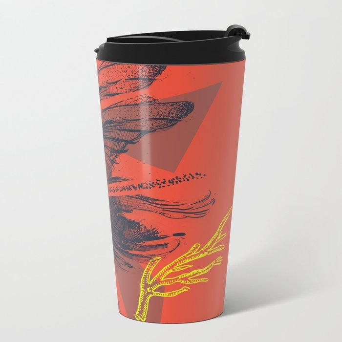 raven2 Metal Travel Mug