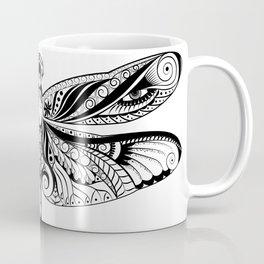 Abstract dragonfly illustration Coffee Mug
