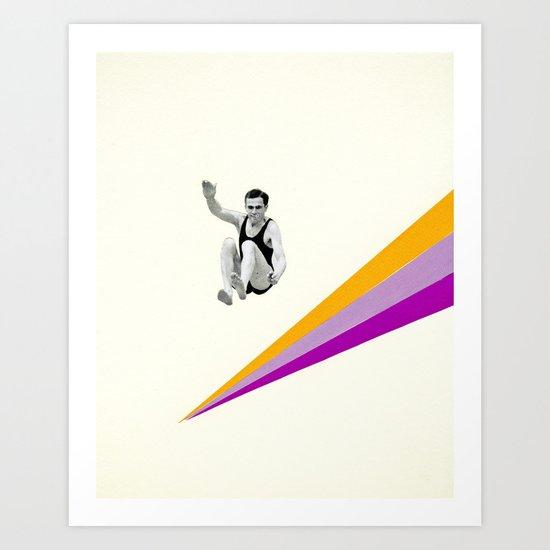 I Can Jump Higher Art Print