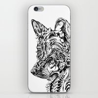 dreamer iPhone & iPod Skins featuring Dreamer by René Campbell