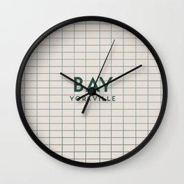 BAY | Subway Station Wall Clock