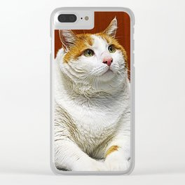 Sir Meow II Clear iPhone Case
