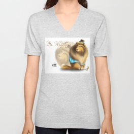 Ms. WhatTime Unisex V-Neck