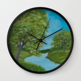 Peaceful Day Wall Clock