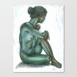 Female figure #2 Canvas Print