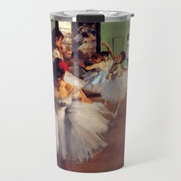 Degas The Dance Class Travel Mug