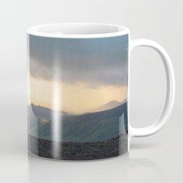 Watercolor Sunset, Iceland 05 Coffee Mug