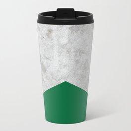 Concrete Arrow Forest Green #326 Metal Travel Mug