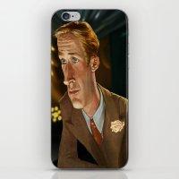 ryan gosling iPhone & iPod Skins featuring Ryan Gosling by Khasis Lieb