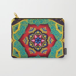 Connection with the universe / Mandala by Ilse Quezada Carry-All Pouch