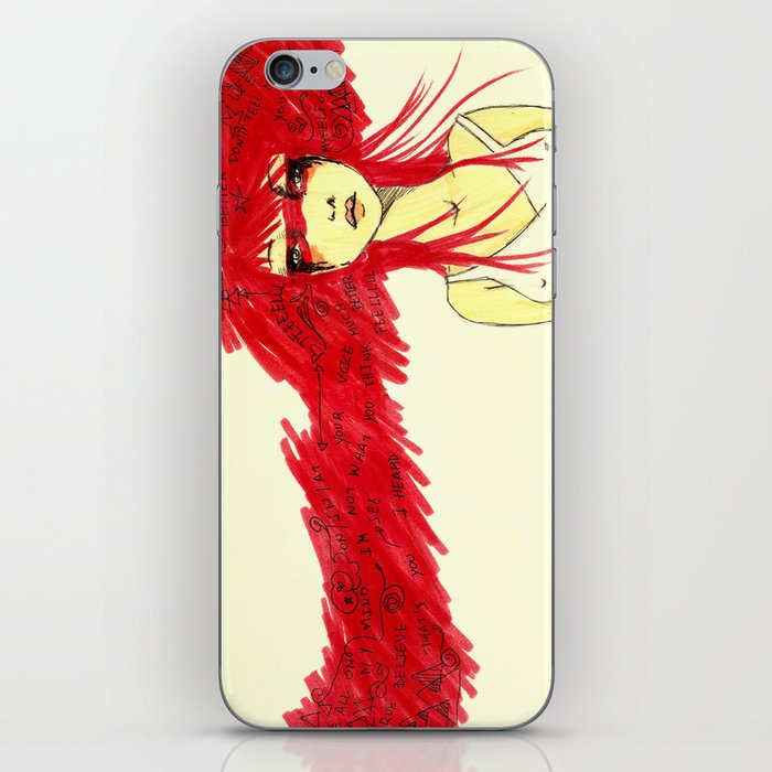 Red Target iPhone Skin
