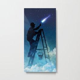 Star Builder Metal Print