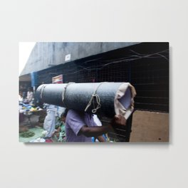 Mumbai Crowds - Dadar Station and Market - 14 Metal Print