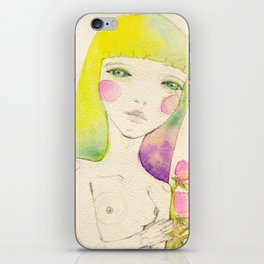 Dear. Spring iPhone Skin