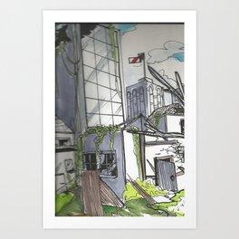 Rundown Art Print