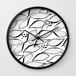 lilies of the valley Wall Clock