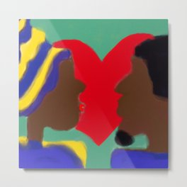 Heart of Love Series Metal Print