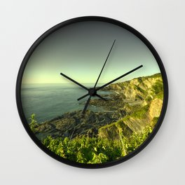 North Devon Coastscape Wall Clock