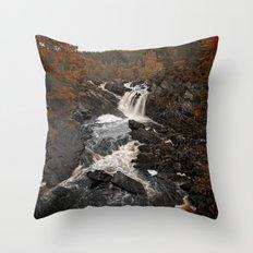 Autum falls Throw Pillow