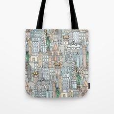 New York watercolor Tote Bag
