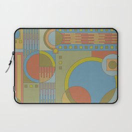 art and crafts circles Laptop Sleeve