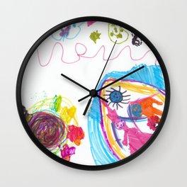 My World Marker Wall Clock