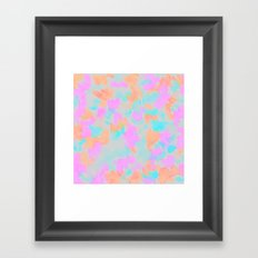 Confetti bloom  Framed Art Print