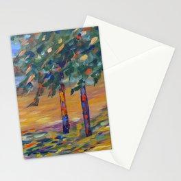 Impressionism landscape, modern impressionism, landscape art Stationery Cards