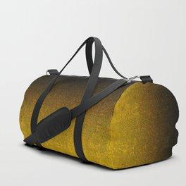 Yellow & Black Glitter Gradient Duffle Bag