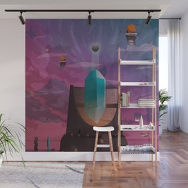 The high Tower Wall Mural