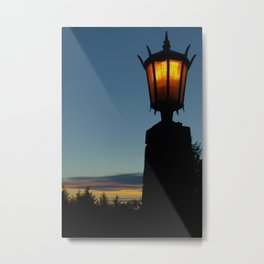 Medieval Sunset Metal Print