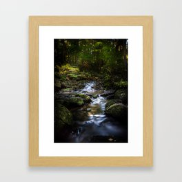 Reality lost Framed Art Print