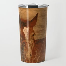 Brown Horse Travel Mug