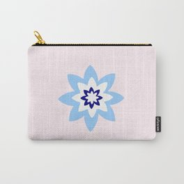 Blue flower 3 Carry-All Pouch