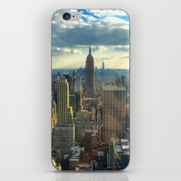 View Of New York City iPhone Skin