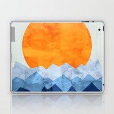 Vibrant watercolor landscape Laptop & iPad Skin