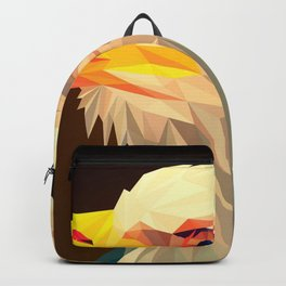 Small poly animal vector art Backpack