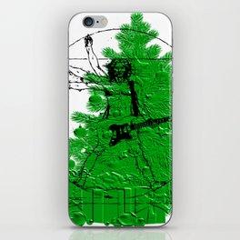 da vinci's Tree iPhone Skin