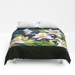 Casablanca Lilies Comforters
