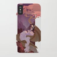 snow white iPhone & iPod Cases featuring Snow White by Ann Marcellino