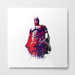 Man of a bat-like nature Metal Print